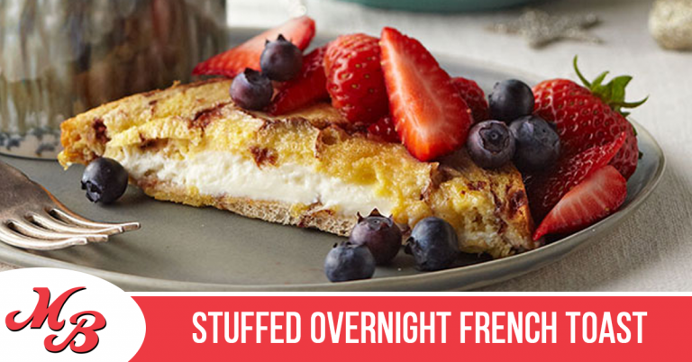 Stuffed Overnight French Toast